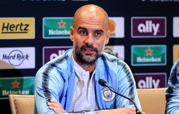 """Guardiola chưa dám mơ vô địch Champions League vì 4 đội """"kỳ đà"""" này!"""