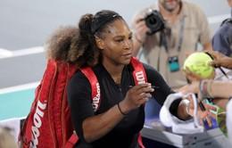 CHÍNH THỨC: Serena Williams không tham dự Australia Mở rộng 2018