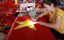 Xưởng may cờ Tổ quốc tất bật trước ngày Quốc khánh