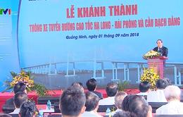 Khánh thành cao tốc Hạ Long - Hải Phòng