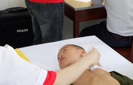 Trái tim cho em: 1.200 trẻ nhỏ được khám sàng lọc tim bẩm sinh tại tỉnh Nam Định