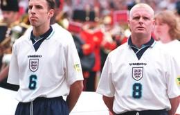 """Cáu giận vì thua trận, HLV Gareth Southgate """"phủ nhận"""" cả Beckham, Paul Scholes"""