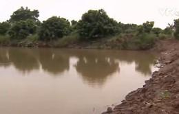 Sạt lở bủa vây khu vực Đồng bằng sông Cửu Long