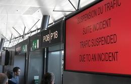 Sân bay Lyon (Pháp) tạm đóng cửa do một vụ lao xe