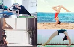 Những người đẹp Vbiz khoe body hoàn hảo nhờ tập Yoga
