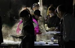 Nhiệt độ giảm đột ngột tại khu vực động đất ở Hokkaido