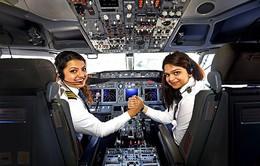 Ấn Độ có tỷ lệ nữ phi công cao nhất thế giới