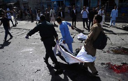 Đánh bom liều chết ở Afghanistan, ít nhất 22 người thiệt mạng