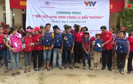 Hỗ trợ học sinh vùng lũ huyện Cẩm Thủy, Thanh Hóa kịp thời đón chào năm học mới