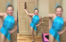 Khâm phục nghị lực của cô bé cụt chân đam mê nhảy múa