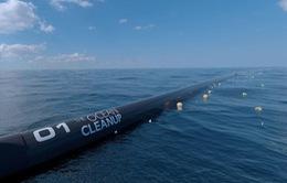 Hệ thống dọn rác ngoài biển chính thức hoạt động