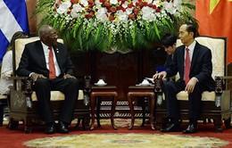Chủ tịch nước tiếp Phó Chủ tịch thứ nhất Hội đồng Nhà nước Cuba