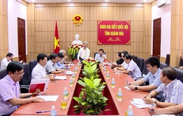 Đoàn đại biểu Quốc hội tỉnh Khánh Hoà giám sát thực hiện Luật đầu tư công