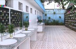 Nhà vệ sinh trường học thân thiện ở Quảng Ninh
