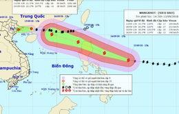 Bão số 5 suy yếu, Biển Đông sắp đón siêu bão