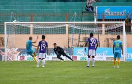 Vòng 22 Nuti Café V.League 2018: Sanna Khánh Hòa BVN 1-1 CLB Hà Nội: Chia điểm trên sân 19/8