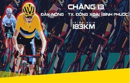 Lộ trình chặng 13 giải xe đạp quốc tế VTV Cup Tôn Hoa Sen 2018