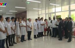 Đoàn đại biểu Đảng, Chính phủ Cuba thăm Bệnh viện hữu nghị Việt Nam Cuba Đồng Hới