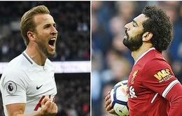 Thú vị cuộc đối đầu giữa hai chân sút Salah – Kane