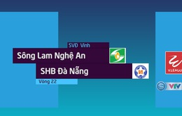 VIDEO: Tổng hợp trận đấu Sông Lam Nghệ An 3-1 SHB Đà Nẵng (Vòng 22 Nuti Café V.League 2018)