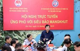 PTTg Trịnh Đình Dũng: Đảm bảo an toàn tính mạng và tài sản của người dân khi siêu bão Mangkhut đổ bộ