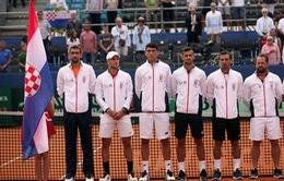 ĐT Croatia và ĐT Pháp tạo lợi thế tại bán kết Davis Cup 2018