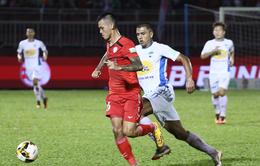 Vòng 22 Nuti Café V.League 2018: CLB TP Hồ Chí Minh 5-3 Hoàng Anh Gia Lai: Mưa bàn thắng trên sân Thống Nhất