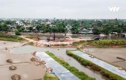 Hà Tĩnh: Đê kè biển sạt lở trước mùa mưa bão