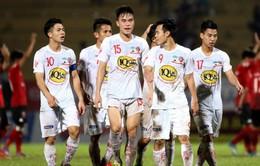 Lịch thi đấu và trực tiếp Vòng 22 Nuti Café V.League 2018 hôm nay: FLC Thanh Hóa - CLB Nam Định, CLB TP Hồ Chí Minh - Hoàng Anh Gia Lai