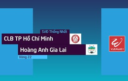 VIDEO Tổng hợp CLB TP Hồ Chí Minh 5 - 3 Hoàng Anh Gia Lai (Vòng 22 Nuti Café V.League 2018)