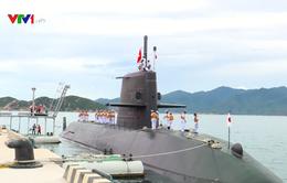 Tàu ngầm của Lực lượng Tự vệ trên biển Nhật Bản thăm Việt Nam