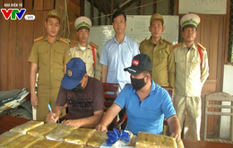 Biên phòng Quảng Trị bắt vụ vận chuyển ma tuý tổng hợp lớn