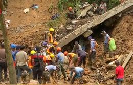 Philippines tìm kiếm người mất tích sau bão Mangkhut
