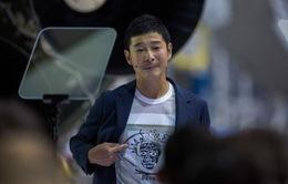 Tỷ phú người Nhật Yusaku Maezawa sẽ là người đầu tiên du lịch Mặt Trăng bằng tàu SpaceX