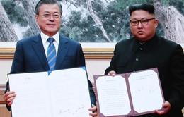 Hai nhà lãnh đạo nhất trí đưa quan hệ hai miền Triều Tiên lên tầm cao mới