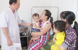 Hà Tĩnh: Gia tăng trẻ nhập viện do viêm phổi, tiêu chảy