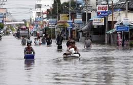 Lũ lụt gây ảnh hưởng nặng nề ở Thái Lan