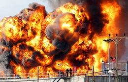 Nổ nhà máy lọc dầu tại Đức làm 9 người bị thương
