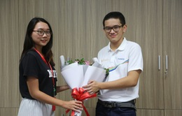 GLTT cùng quán quân Đường lên đỉnh Olympia 2018 Nguyễn Hoàng Cường