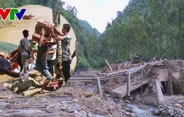 Hàng nghìn nhân khẩu Thanh Hoá thiếu lương thực do bị chia cắt