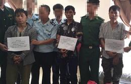 BĐBP Hà Tĩnh bắt 3 đối tượng vận chuyển 18 nghìn viên ma tuý