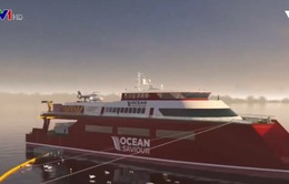 Du thuyền làm sạch đại dương tại Anh