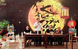 """Vui trung thu trong """"Ký ức mùa trăng"""" tại Hồ Văn - Văn Miếu Quốc Tử Giám"""