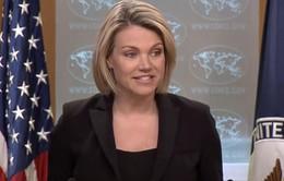 Mỹ tái khẳng định lập trường về tiến trình phi hạt nhân hóa Triều Tiên