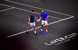 Laver Cup 2018: Cặp đôi Federer - Djokovic thua ngược Anderson - Sock