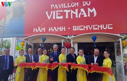 Quảng bá văn hóa, du lịch Việt Nam tại hội chợ quốc tế CAEN (Pháp)