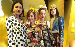 Loạt nữ thần châu Á làm náo loạn sàn diễn Dolce & Gabbana