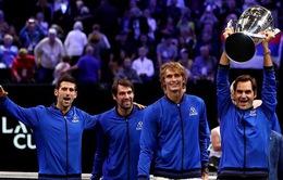 Zverev thắng trận quyết định, đội châu Âu vô địch Laver Cup