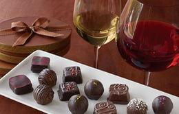 Rượu vang và sô cô la có thể giúp cải thiện tuổi thọ