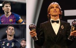Cụ thể các phiếu bầu FIFA The Best: Messi bầu cho Ronaldo, HLV Park Hang Seo lựa chọn bất ngờ